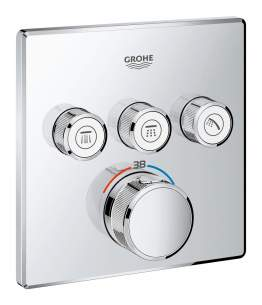 Grohtherm Smartcontrol Stat Concealed 3 Valves 29126000