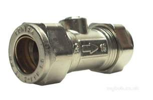 Isolating Valves -  15mm Np Isolating Valve Slotted 01 10535