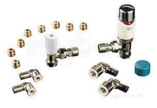 Invensys Trv4 Trv Valves -  Drayton Trv4 15mm Angle And Int Head Gold