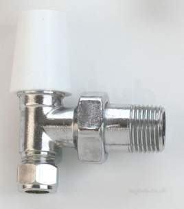 Angled Drain off Valve 8mm 10mm 15mm In Chrome Westco