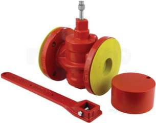 Landon Kingsway Free Fall Fire Valves -  Lk Flanged Free Fall Fire Valve Set 65mm