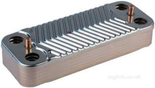 Viessmann Limited Boiler Spares -  Viess 7825533 Plate Heat Exchanger