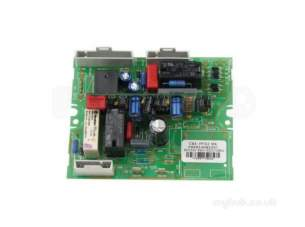 Ariston Boiler Spares -  Ariston 65101255 Main Pcb/digital Time Clck