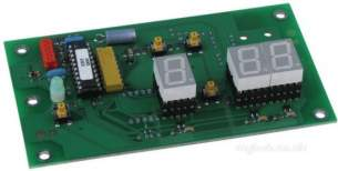 Ariston Boiler Spares -  Mts Ariston 990693 Display Pcb
