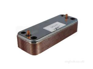 Ariston Boiler Spares -  Ariston 998483 Heat Exchanger-secondary