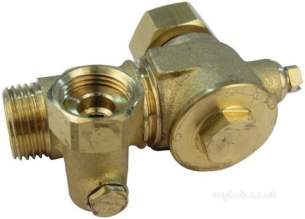 Ariston Boiler Spares -  Ariston 995485 1/2 Inch Isolation Valve