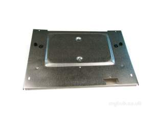 Baxi Boiler Spares -  Baxi 040412 Combustion Box Front Cover