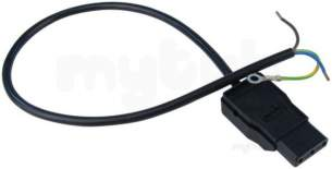Baxi Boiler Spares -  Baxi 040950 Fixed Plug C/w Wire