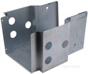 Baxi Boiler Spares -  Baxi 234404 Com Box Panel Back And Sides