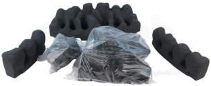 Valor Gas Fire Spares -  Valor 0577069 Ceramics Set