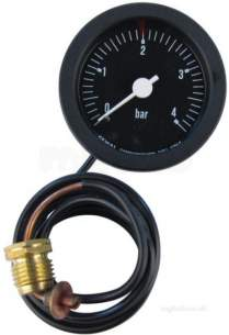 Forest Commercial Heating Services -  Beeston 0166 Pressure Gauge Square