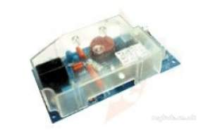 Glow Worm Boiler Spares -  Glow Worm S900817 Pcb Single Fuse Type