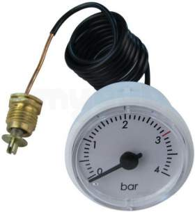 Ariston Boiler Spares -  Mts Ariston 65102220 Pressure Gauge