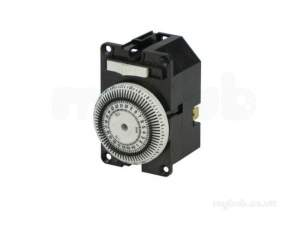 Halstead Heating Boiler Spares -  Hstead 600516 Clock Km2 Inc M/panel