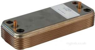 Halstead Heating Boiler Spares -  Halstead 450985 Dhw Heat Exchanger