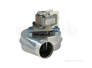 Halstead Heating Boiler Spares -  Halstead 988387 Best 60 Fan Assembly