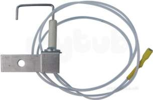 Johnson and Starley Boiler Spares -  Johns Pw/3 Electrode And Lead Assy