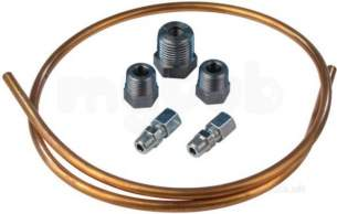 Johnson and Starley Boiler Spares -  Johnson And Starley Johns S00424 Gas Feed Pipe Kit