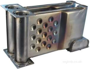 Johnson and Starley Boiler Spares -  Johns B500-0300005 Heat Exchanger