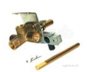 Cannon Boiler Spares -  Cannon 6900156 Gas Tap And Piezo Jca 935