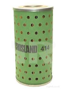 Crosland Oil Filters -  Coopers 414 Filter Element Oil H.d.