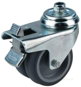 Bakery Commercial Catering Spares -  Jac S.a 793000-3 Castor With Brake