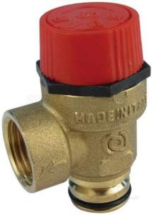 Baxi Boiler Spares -  Baxi 248056 Safety Valve-3 Bar