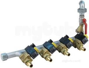 Bakery Commercial Catering Spares -  Complete Steam Manifold 43 Cse 943141