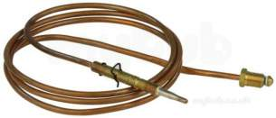 Thermocouples Boiler Spares -  Thermocouple Itt 48 Inch 1200mm Type