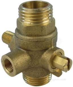 Caradon Ideal Domestic Boiler Spares -  Ideal 075263 15mm Valve Assembly