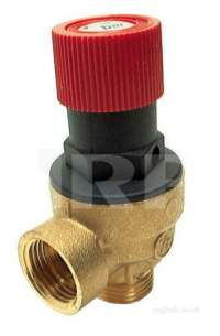 Caradon Ideal Domestic Boiler Spares -  Ideal 004164 1/2inch Safety Relief Prv