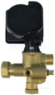 Alpha Boiler Spares -  Alpha 3019689 Diverter Valve And Motor