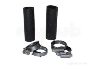 Saunier Duval Boiler Spares -  Saun 05174100 Hose And Jubilee Clip Pack