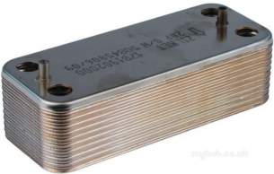 Ariston Boiler Spares -  Aris 65102356 Secondary Exchanger