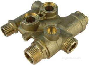 Johnson and Starley Boiler Spares -  Johns 1000-0301605 Diverter Valve Only