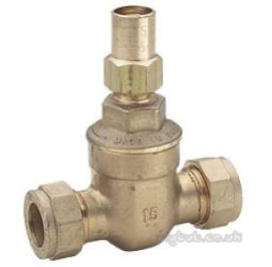 Pegler Gate Globe and Check Valves -  Pegler Gm63 15mm Ls C X C Gm Gate Valve