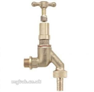 Pegler Commercial and Specialist Brassware -  Pegler 141hufgk 1/2 Inch Bibtap And Key Dzr