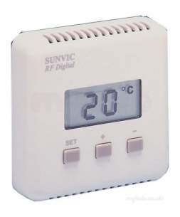 Sunvic Domestic Controls -  Sunvic Tlx Rfd Digital Room Thermostat Obsolete