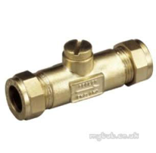 Pegler Gate Globe and Check Valves -  Pegler 802 15mm Dzr Double Check Valve