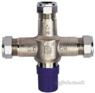 Pegler Thermostatic Mixing Valves -  Pegler 402h 15/22mm Inlne Tmv Type3 Cp Obsolete