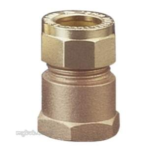 Prestex Compression Fittings -  Prestex 41 15mm X 1/4 Inch Fi Str Coupling