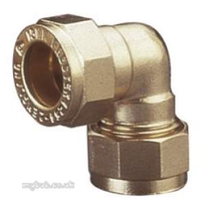 Prestex Compression Fittings -  Pegler Yorkshire Prestex 44 10mm C X C Elbow