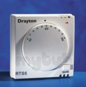 Invensys Domestic Controls and Programmers -  Drayton Rts 5 Energy Saver Room Stat