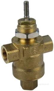Appliance Components Heating Range -  Tac Gib T2p/1s 15mm 2port Valve Kv-4.0