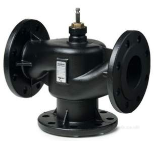 Landis and Staefa Hvac -  Siemens Vxf 31 80 80mm 3port Flange Valve Kv-78