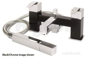Eastbrook Brassware -  31.0505 Prado 600 Bsm Inc Kit Chrome