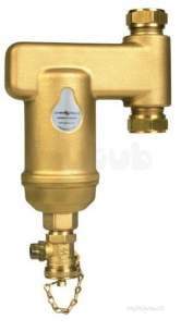 Spirovent Brass Units -  Spirotech Spirovent Dirt Sv3-022-cv