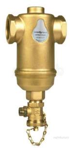 Spirovent Brass Units -  Spirovent Dirt Spirotrap Sv3-025-t
