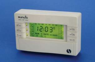 Sunvic Domestic Controls -  Sunvic 307 Xls Three Channel Programmer