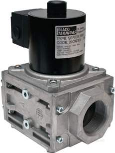 Black Automatic Gas Controls -  Black 2006 230vc 1 Inch Gas Solenoid Valve Fo And Cpi